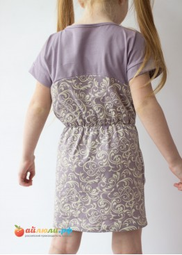 0283 Платье для девочки