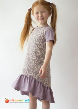 0284 Платье для девочки