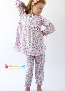 """0392 Пижама для девочки """"Мальвина"""""""