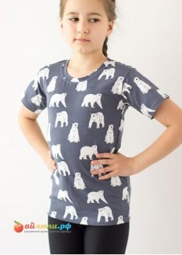 "2080 ""Медведи"" футболка (кулирка-стрейч)"