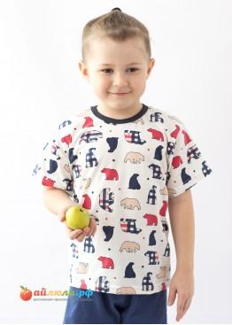 "2621 ""Медведи"" футболка+шорты"