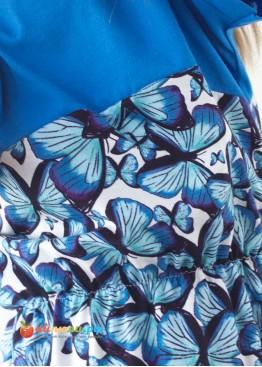 "3013 ""Бабочка"" платье (резинка, кулирка)"
