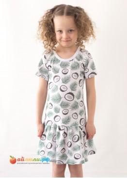 """3050 """"Кокос"""" платье"""