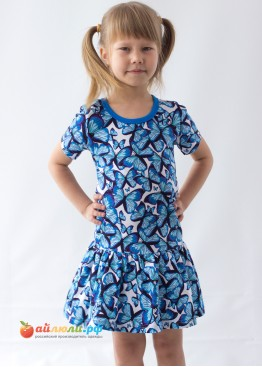 "3053 ""Ягодка"" платье (кулирка)"