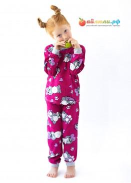 7903 Пижама детская (манжеты, кулирка)