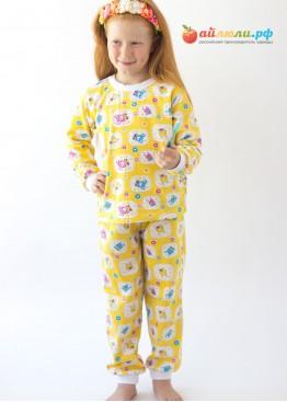 7904 Пижама детская (манжеты, футер)